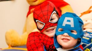 spider man and captain america kids