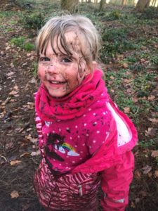 Mud at Castle Lane Forest School