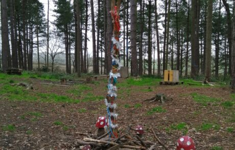Forest school totem