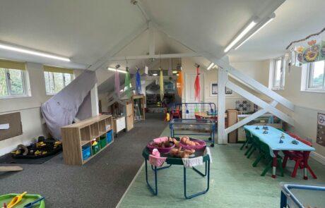 Pre school play area
