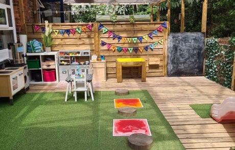 Tweenies outdoor area